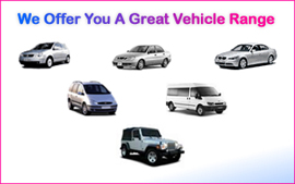 Great Vehicle Rental Range